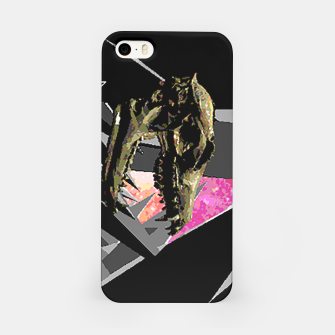 Thumbnail image of space skull iPhone Case, Live Heroes