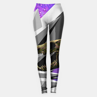 Thumbnail image of SPACE SKULL CRYSTAL Leggings, Live Heroes