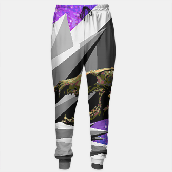 Thumbnail image of SPACE SKULL CRYSTAL Sweatpants, Live Heroes
