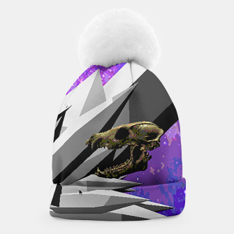 Thumbnail image of SPACE SKULL CRYSTAL Beanie, Live Heroes