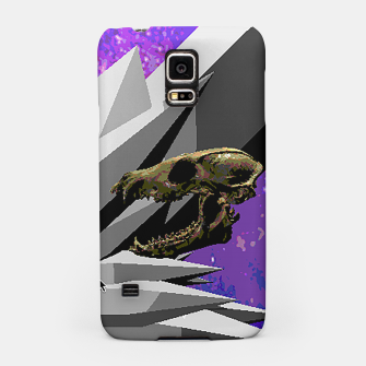 SPACE SKULL CRYSTAL Samsung Case thumbnail image