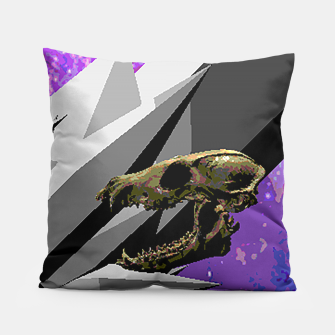 Thumbnail image of SPACE SKULL CRYSTAL Pillow, Live Heroes