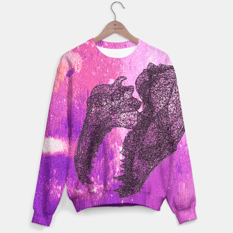 Thumbnail image of chomp fox Sweater, Live Heroes