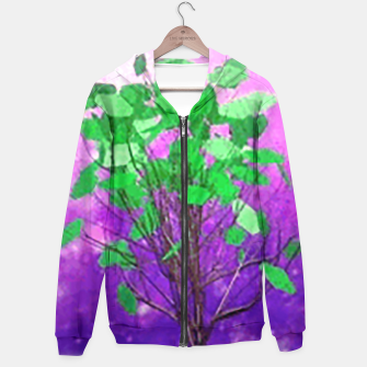 Thumbnail image of Space tree Hoodie, Live Heroes