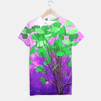 Thumbnail image of Space tree T-shirt, Live Heroes