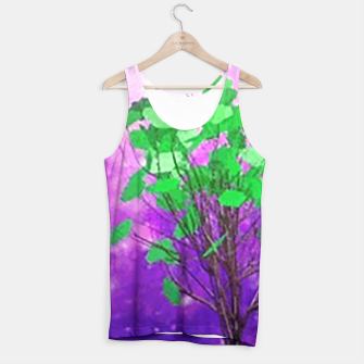 Thumbnail image of Space tree Tank Top, Live Heroes