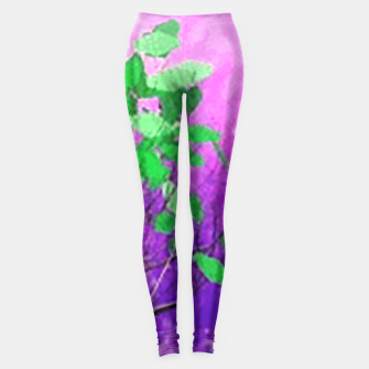 Thumbnail image of Space tree Leggings, Live Heroes