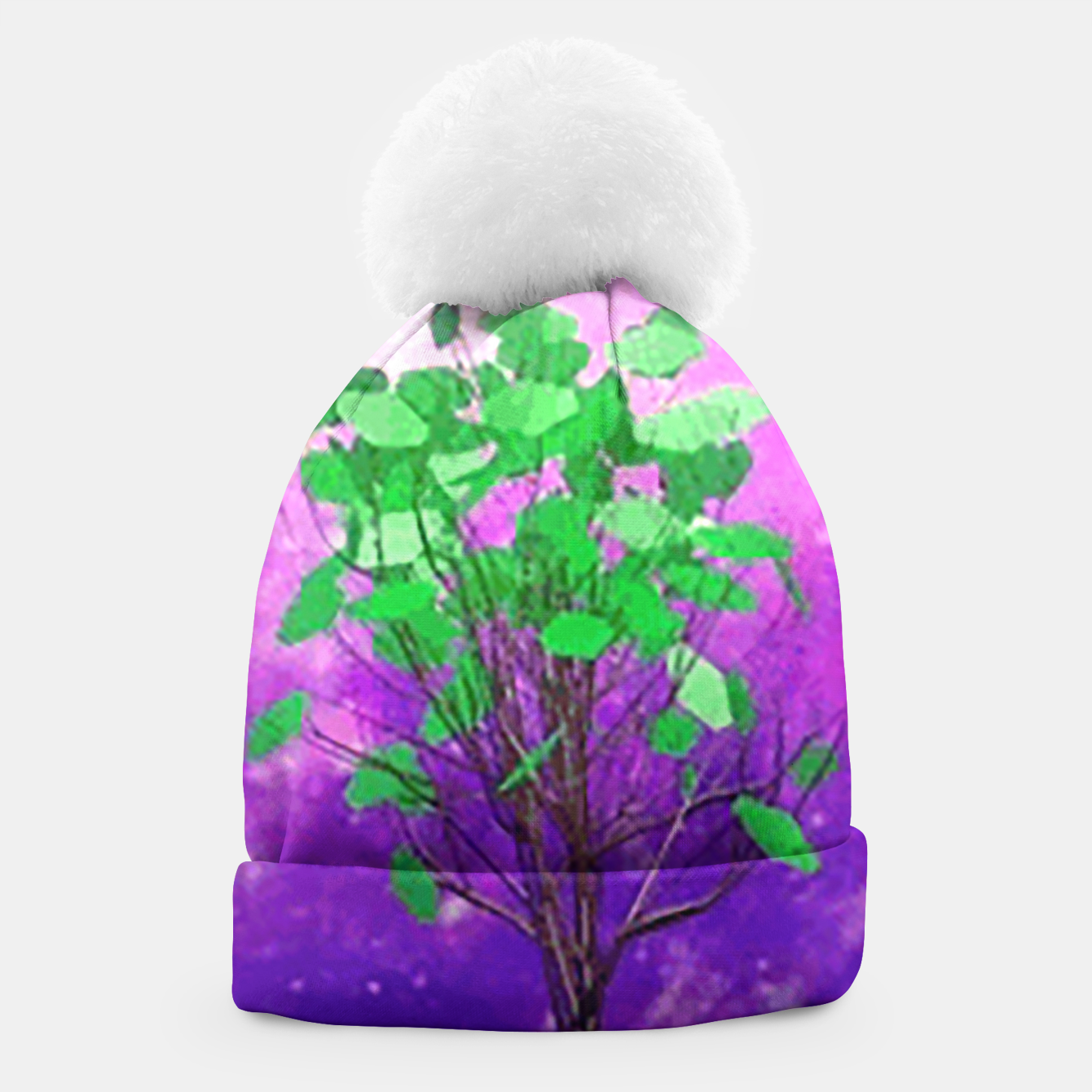 Image of Space tree Beanie - Live Heroes