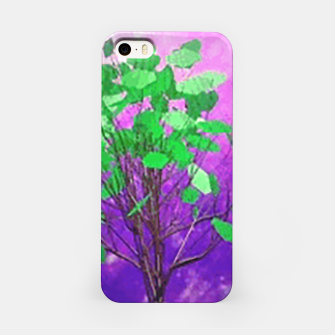 Thumbnail image of Space tree iPhone Case, Live Heroes