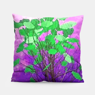Thumbnail image of Space tree Pillow, Live Heroes
