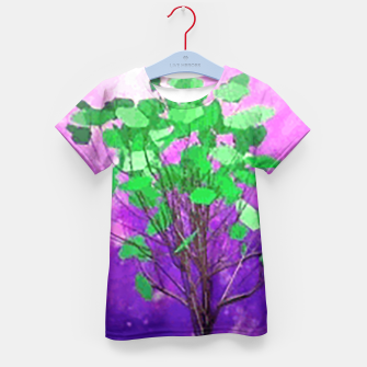 Thumbnail image of Space tree Kid's T-shirt, Live Heroes