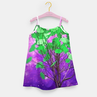 Thumbnail image of Space tree Girl's Dress, Live Heroes