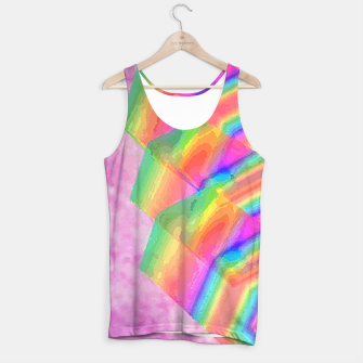 Thumbnail image of Crystal sparkel Tank Top, Live Heroes