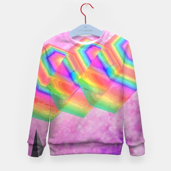 Thumbnail image of Crystal sparkel Kid's Sweater, Live Heroes