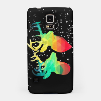 Thumbnail image of space deer Samsung Case, Live Heroes