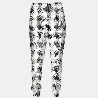 Thumbnail image of Abstract in Black and White  Sweatpants, Live Heroes