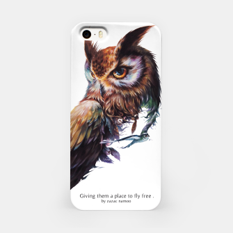 Thumbnail image of owl iPhone Case, Live Heroes