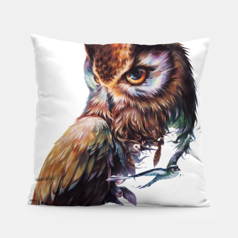 Thumbnail image of owl Pillow, Live Heroes