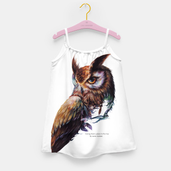 Thumbnail image of owl Girl's Dress, Live Heroes