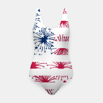 Thumbnail image of Independence day pattern Swimsuit, Live Heroes
