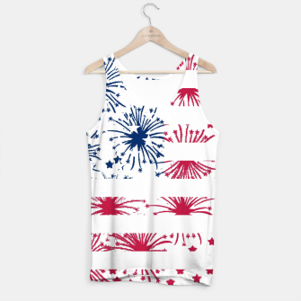 Thumbnail image of Independence day pattern Tank Top, Live Heroes