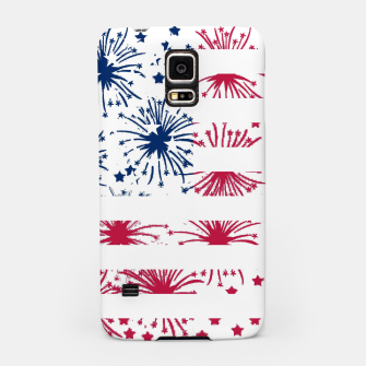 Thumbnail image of Independence day pattern Samsung Case, Live Heroes