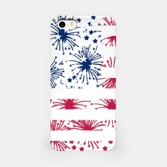 Thumbnail image of Independence day pattern iPhone Case, Live Heroes