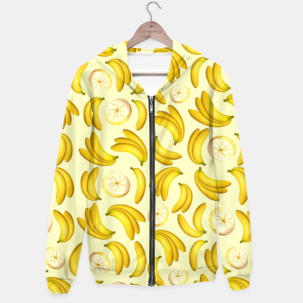 Thumbnail image of Banana Fruity Pattern  Hoodie, Live Heroes