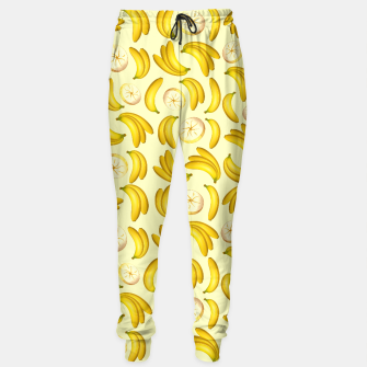 Thumbnail image of Banana Fruity Pattern  Sweatpants, Live Heroes