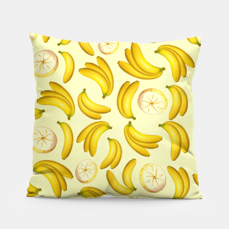 Thumbnail image of Banana Fruity Pattern  Pillow, Live Heroes