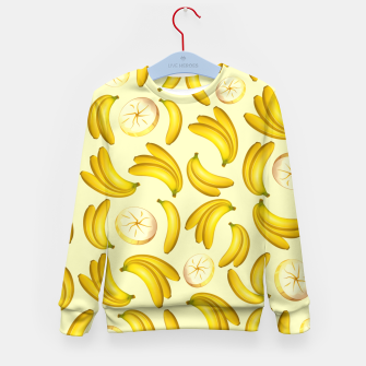 Banana Fruity Pattern  Kid's Sweater thumbnail image