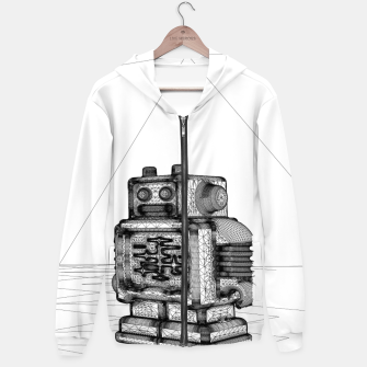 Thumbnail image of Robot solo Hoodie, Live Heroes