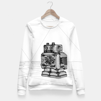 Thumbnail image of Robot solo Fitted Waist Sweater, Live Heroes