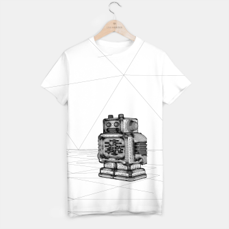 Thumbnail image of Robot solo T-shirt, Live Heroes