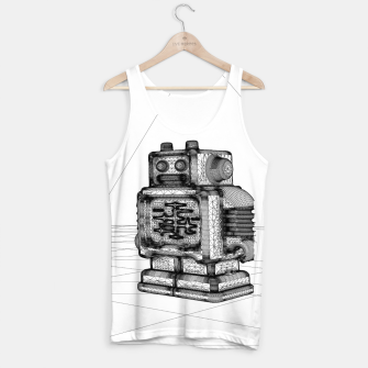 Thumbnail image of Robot solo Tank Top, Live Heroes