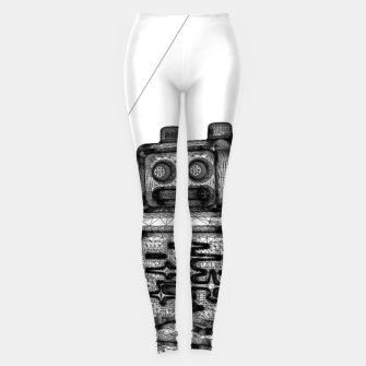 Thumbnail image of Robot solo Leggings, Live Heroes