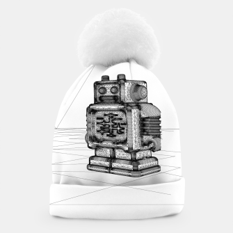 Thumbnail image of Robot solo Beanie, Live Heroes