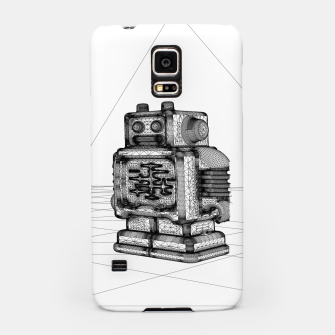 Thumbnail image of Robot solo Samsung Case, Live Heroes