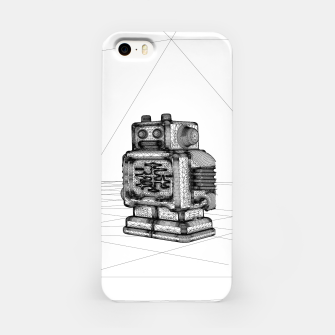 Thumbnail image of Robot solo iPhone Case, Live Heroes