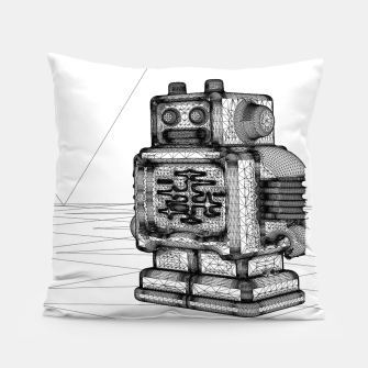 Thumbnail image of Robot solo Pillow, Live Heroes