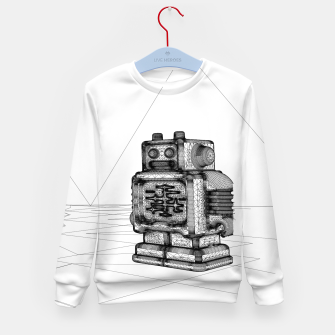 Thumbnail image of Robot solo Kid's Sweater, Live Heroes