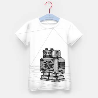 Thumbnail image of Robot solo Kid's T-shirt, Live Heroes