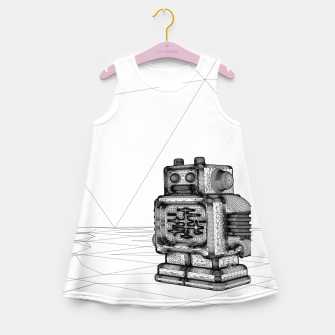 Thumbnail image of Robot solo Girl's Summer Dress, Live Heroes