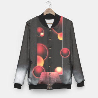 Thumbnail image of Void Vibes Only Baseball Jacket, Live Heroes
