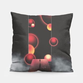 Thumbnail image of Void Vibes Only Pillow, Live Heroes