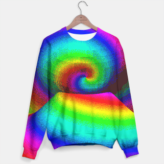 Thumbnail image of rainbow pixels Sweater, Live Heroes