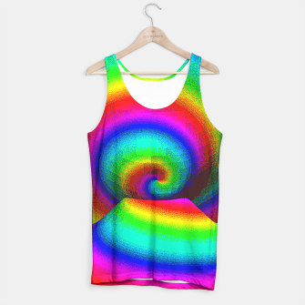 Thumbnail image of rainbow pixels Tank Top, Live Heroes