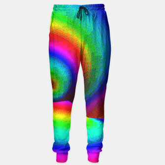 Thumbnail image of rainbow pixels Sweatpants, Live Heroes