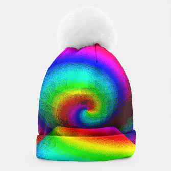Thumbnail image of rainbow pixels Beanie, Live Heroes