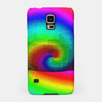 Thumbnail image of rainbow pixels Samsung Case, Live Heroes